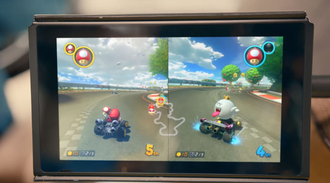 O rumor sobre o game Mario Kart para o Nintendo Switch era falso