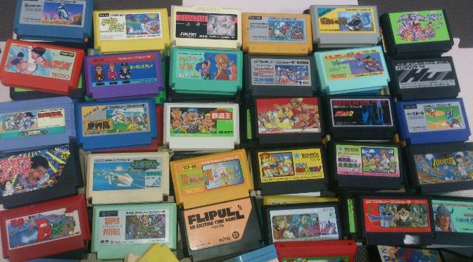 """Uma mulher vende """"malandramente"""" uma coleção de 1000 jogos Famicom do seu marido"""