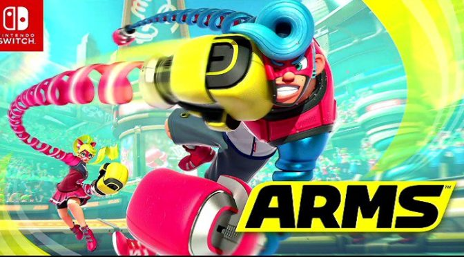 Novidades do game Arms (Nintendo Switch)