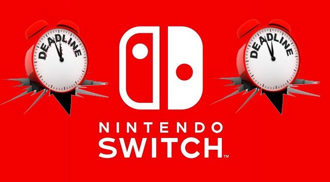 Nintendo Switch Lançado às Pressas?