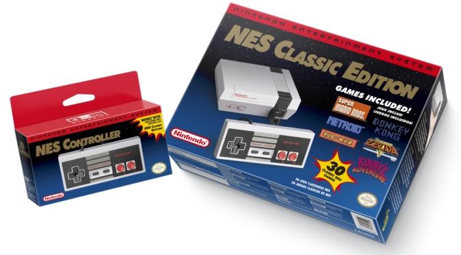 Nintendo anuncia o número de unidades vendidas do Mini Nes Classic