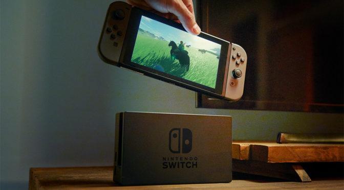 Nintendo já vendeu 1,5 milhão de unidades do Switch em uma semana