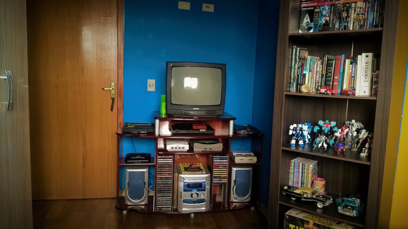 Uma amostra do meu quarto da coleção