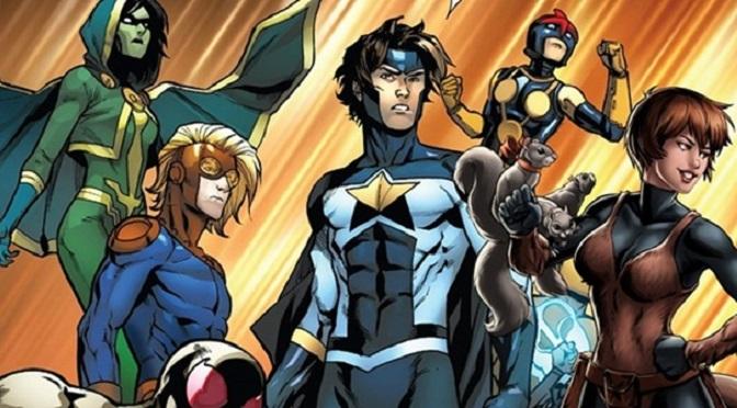 Série dos Novos Guerreiros confirmada para 2018 – Marvel