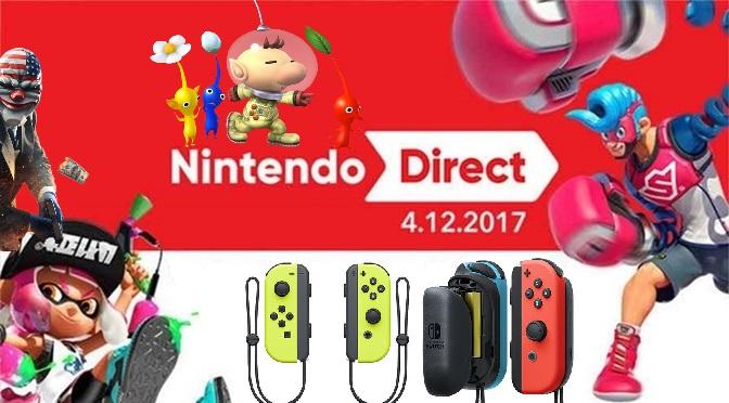 Nintendo Direct 12/04/17 – resumo