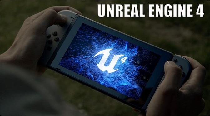20 Jogos com Unreal Engine 4 estão em desenvolvimento para o Switch