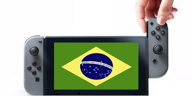 Nintendo está voltando ao Brasil