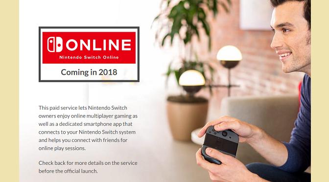 Serviço Online Pago da Nintendo. Você está preparado pra isso?