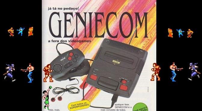 Geniecom! Meu Clone de NES