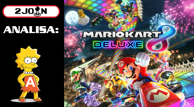 2 Join Analisa – Mario Kart 8 Deluxe (Switch)