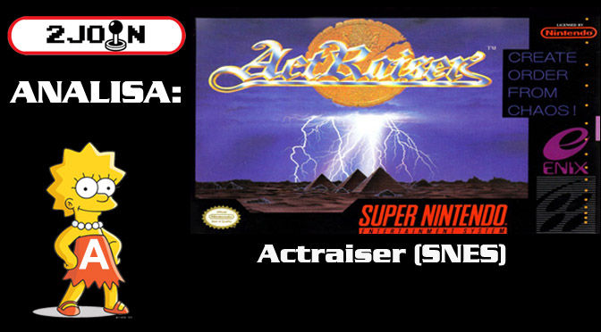 Review: ActRaiser (Snes – 1990)