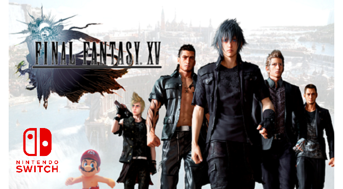 Final Fantasy XV pode estar chegando ao Switch!