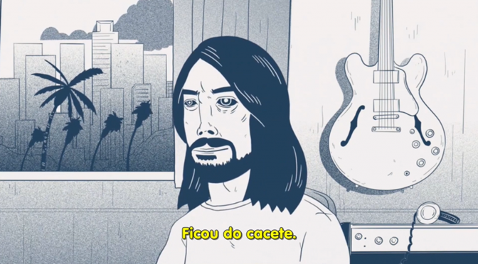 Foo Fighters lança novo álbum (e de quebra um vídeo animado do Making Of)