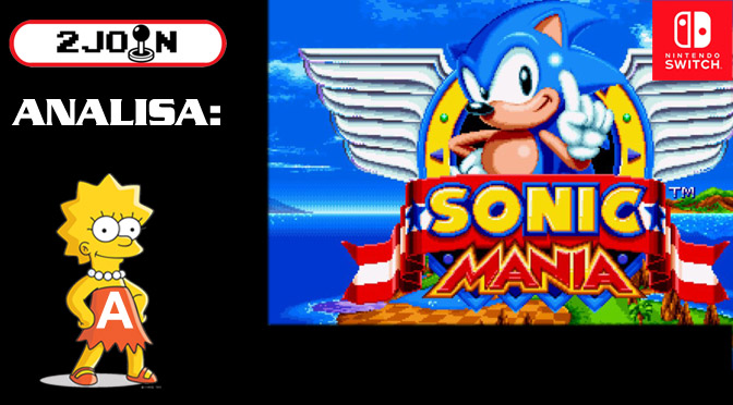 2 Join Analisa – Sonic Mania (Nintendo Switch)