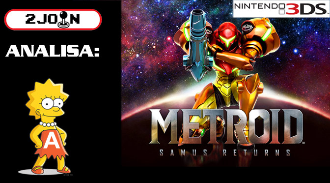2Join Analisa – Metroid: Samus Returns (3DS)