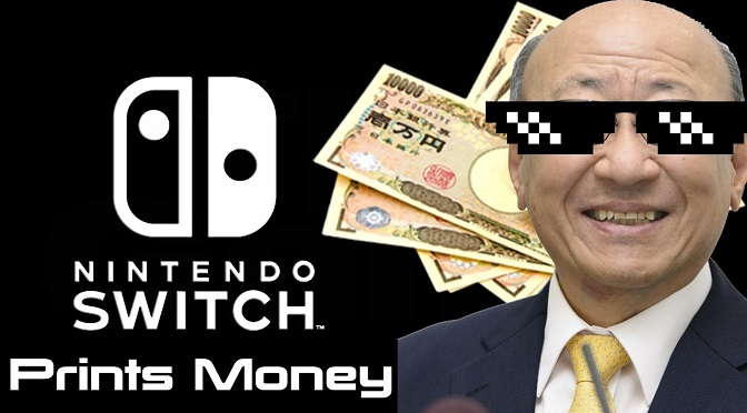 Nintendo Switch já vendeu metade do WiiU em menos de 1 ano