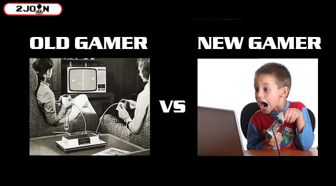 Old Gamer VS New Gamer