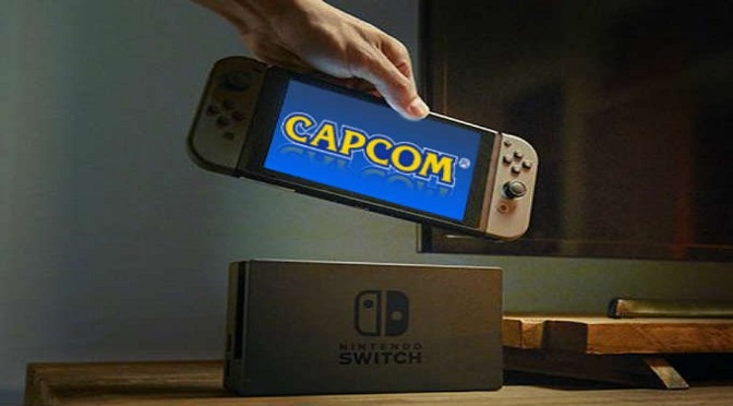 Capcom promete mais games ao Switch em 2018